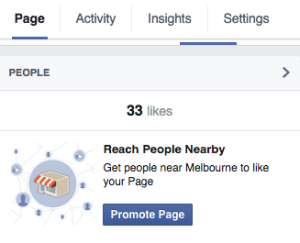 Facebook-Promote-Page-button