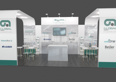 Global M2M – Trade Show Stand Design