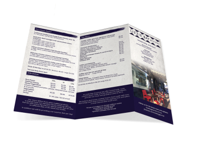 Lizzie Bay Gourmet – Brochure Design
