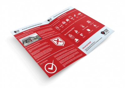 Spider Sense – Brochure Design